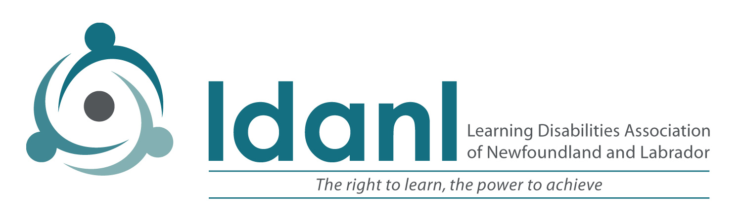 Learning Disabilities Association of Newfoundland and Labrador Logo